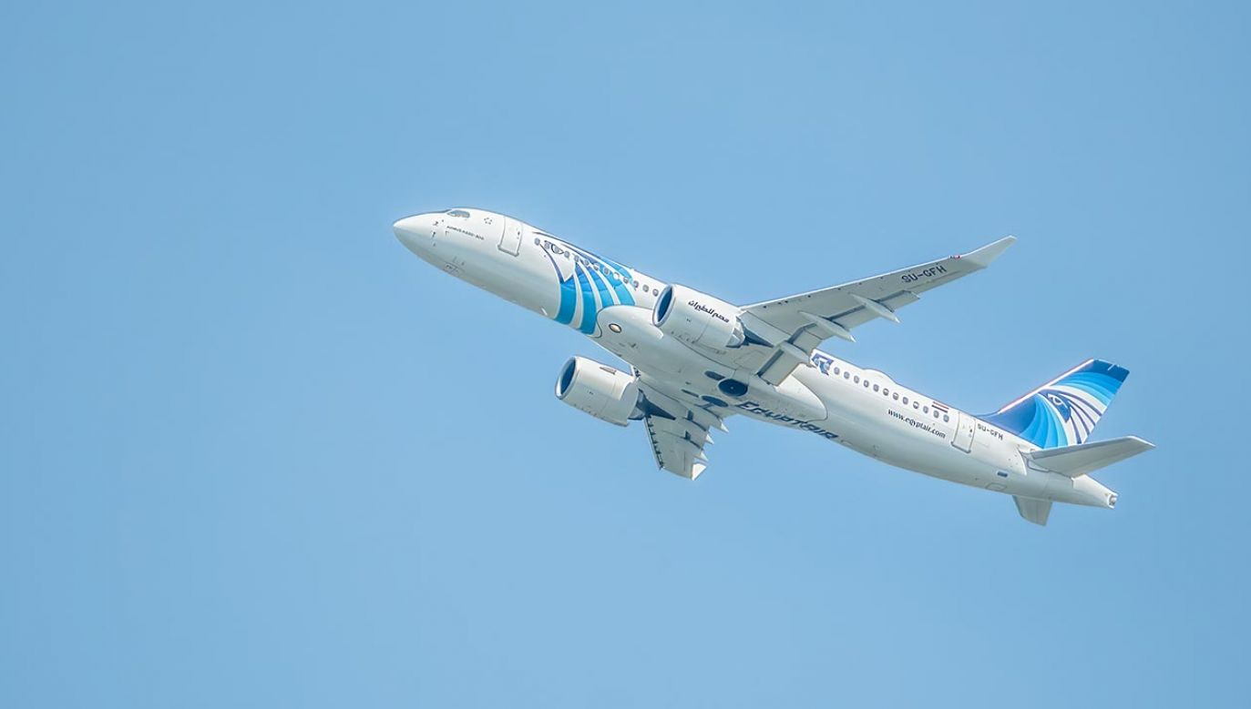 Samolot egipskich linii lotniczych lecący do Moskwy musiał zawrócić  (fot. Shutterstock/Cristi Croitoru)