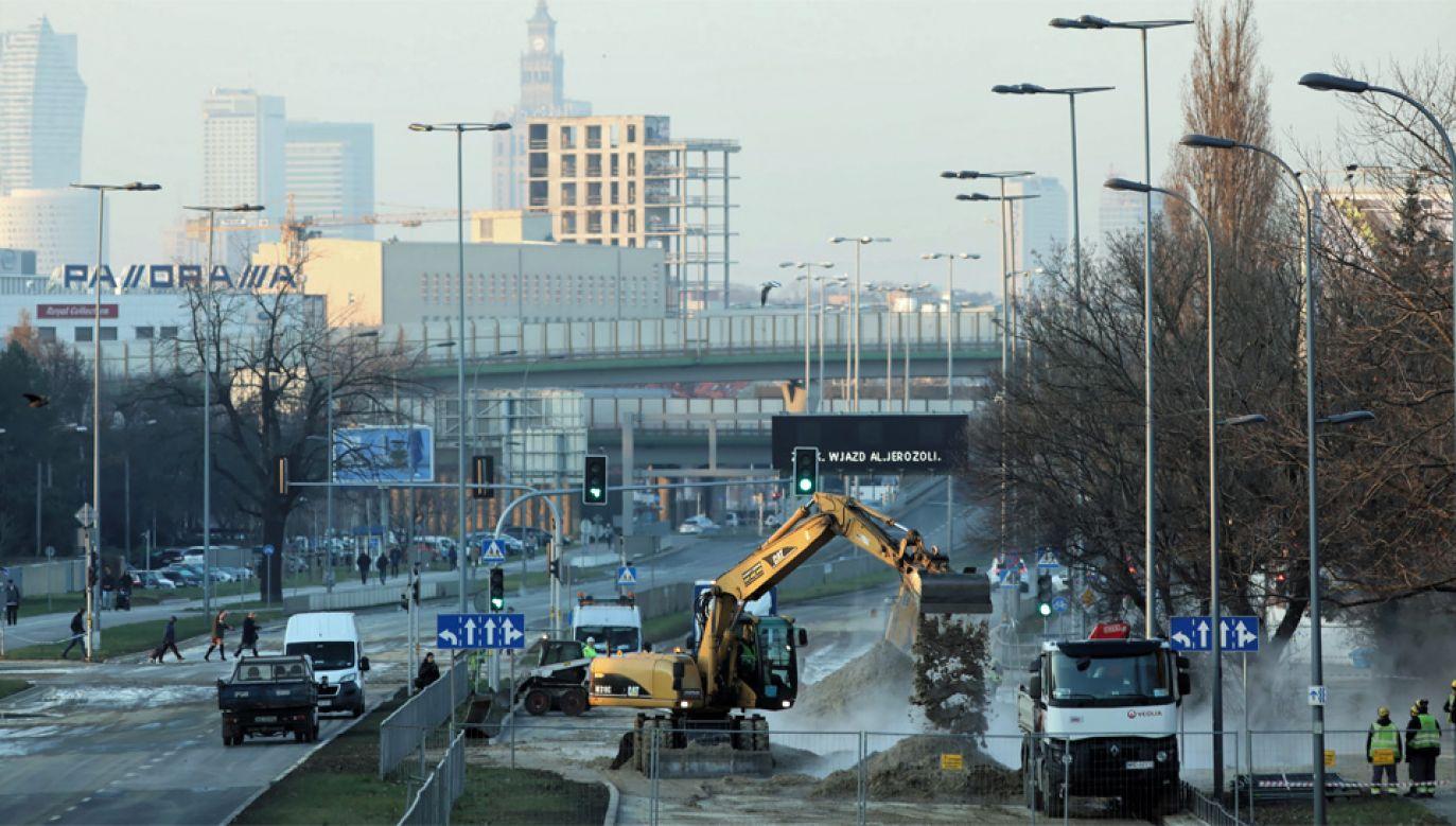 Do awarii doszło w środę rano (fot. PAP/Leszek Szymański)