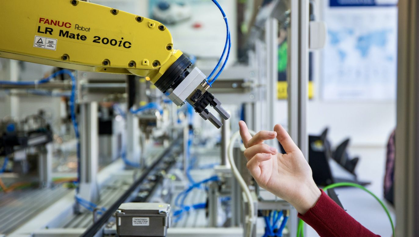 Robot pomoże w wykrywaniu zakażeń (fot. KN Sensor/AGH)