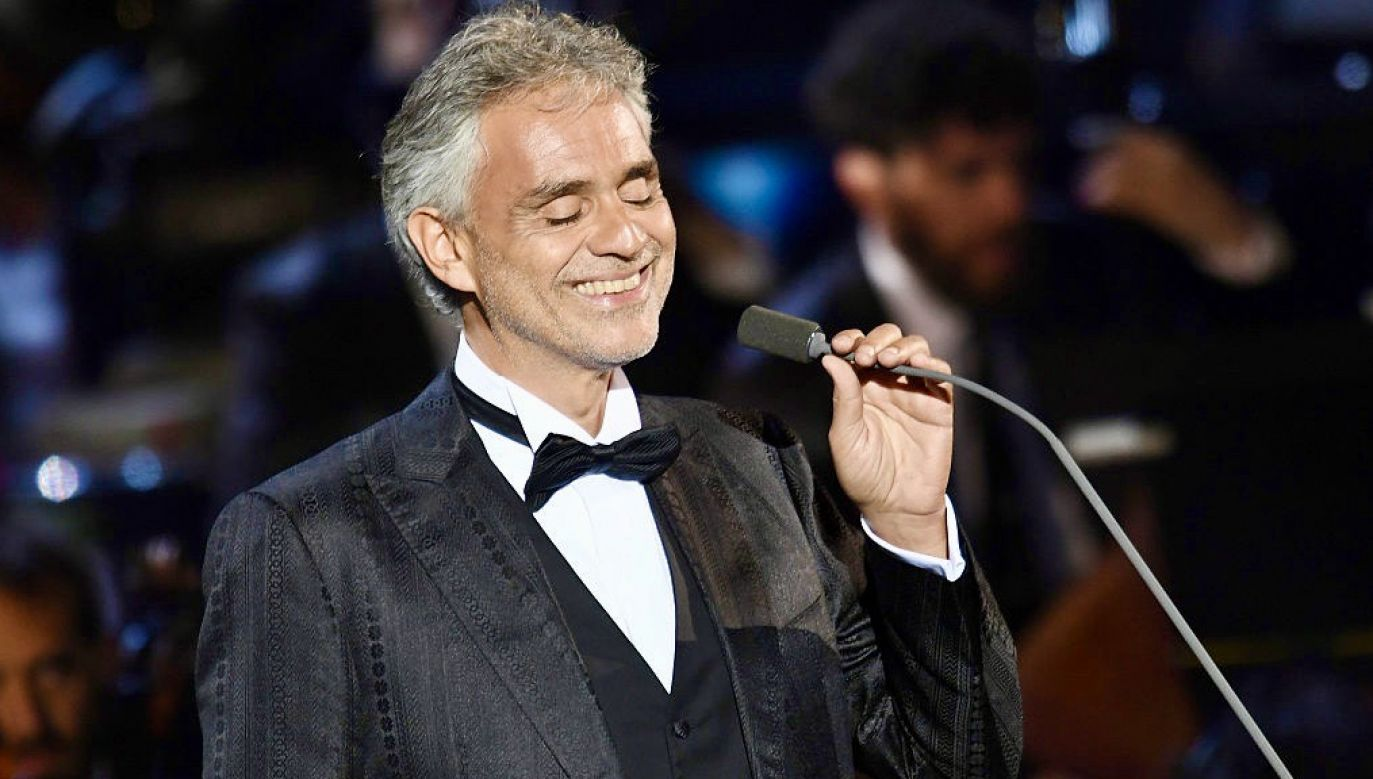 Andrea Bocelli (fot. Francesco Prandoni/Getty Images for Bocelli & Zanetti Night)