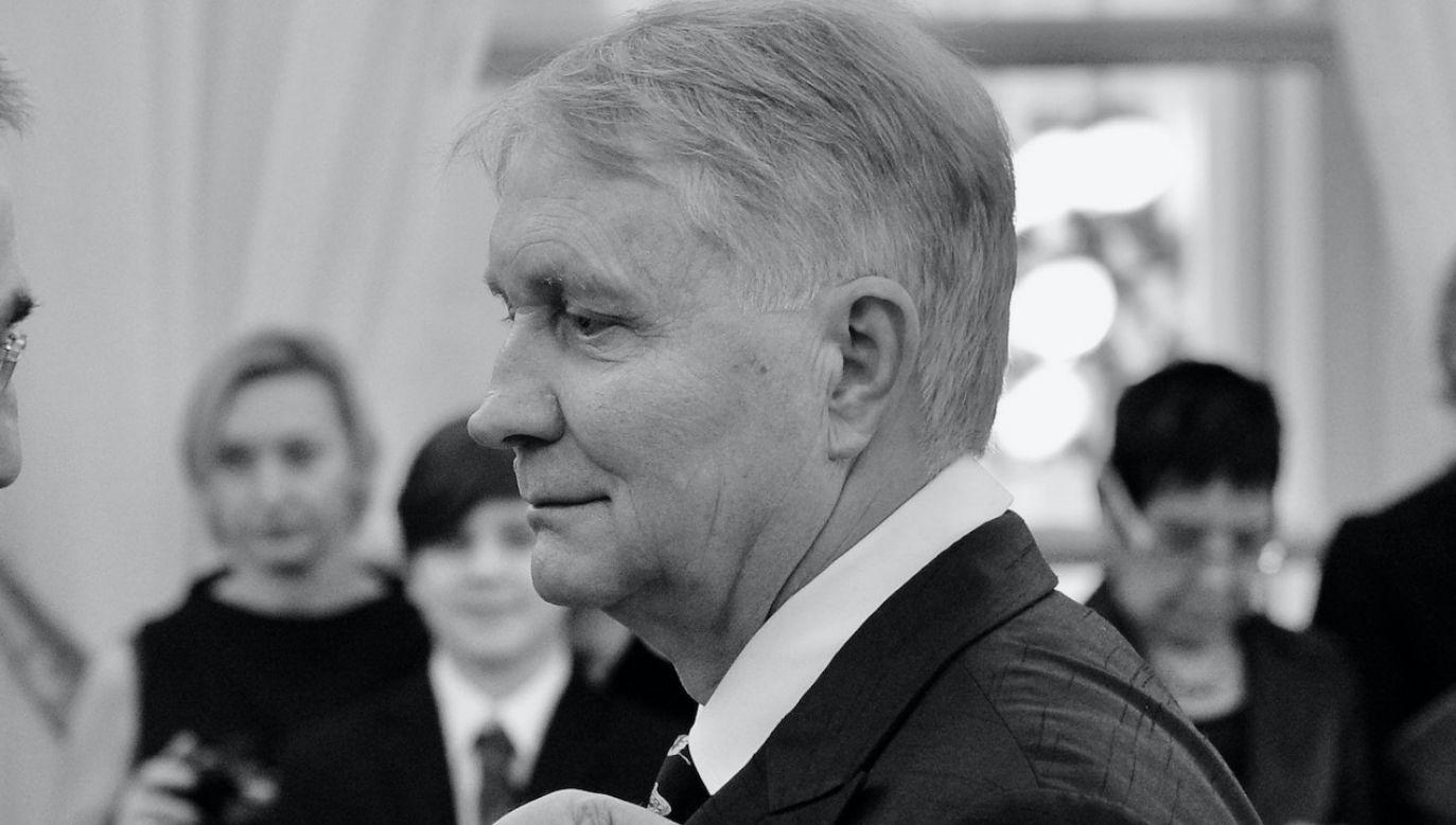 Piotr Miks miał 77 lat (fot. arch.PAP/Radek Pietruszka)