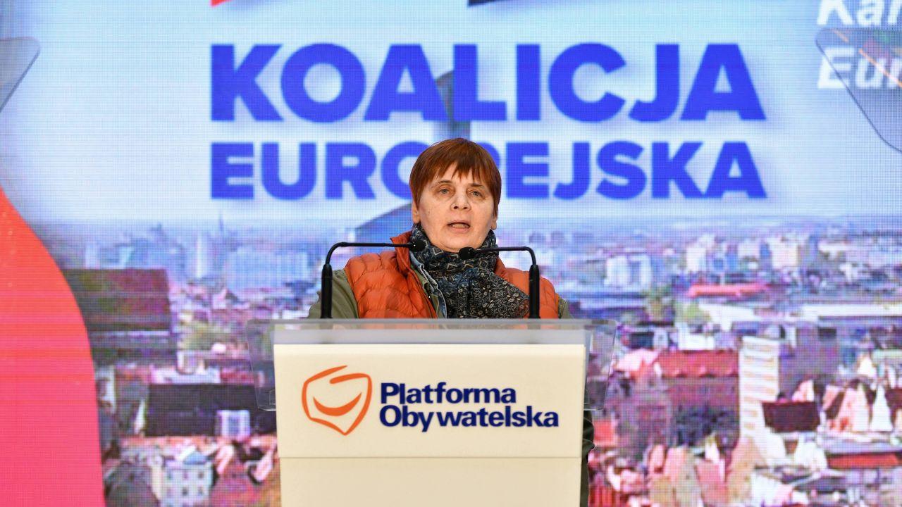Janina Ochojska o szczepionkach i koronawirusie (fot. PAP/Jan Karwowski)