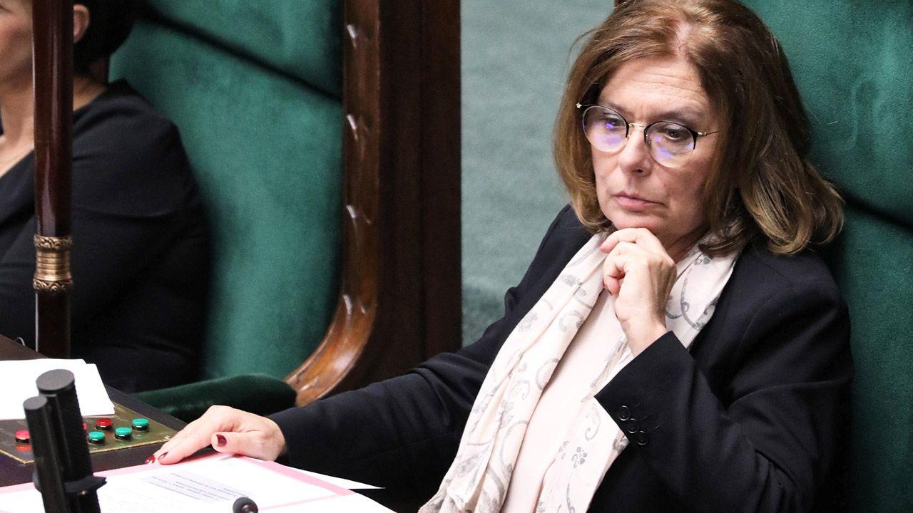 Wicemarszałek Sejmu Małgorzata Kidawa-Błońska (fot. PAP/Tomasz Gzell)