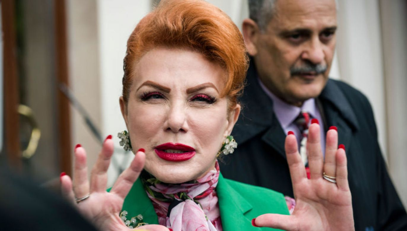 Georgette Mosbacher (fot. Attila Husejnow/SOPA Images via Getty Images)