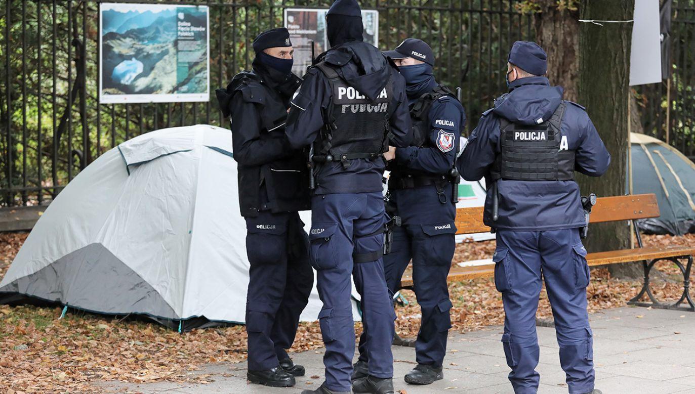 Do tragicznego wydarzenia doszło w sobotę przed południem (fot. PAP/Paweł Supernak)