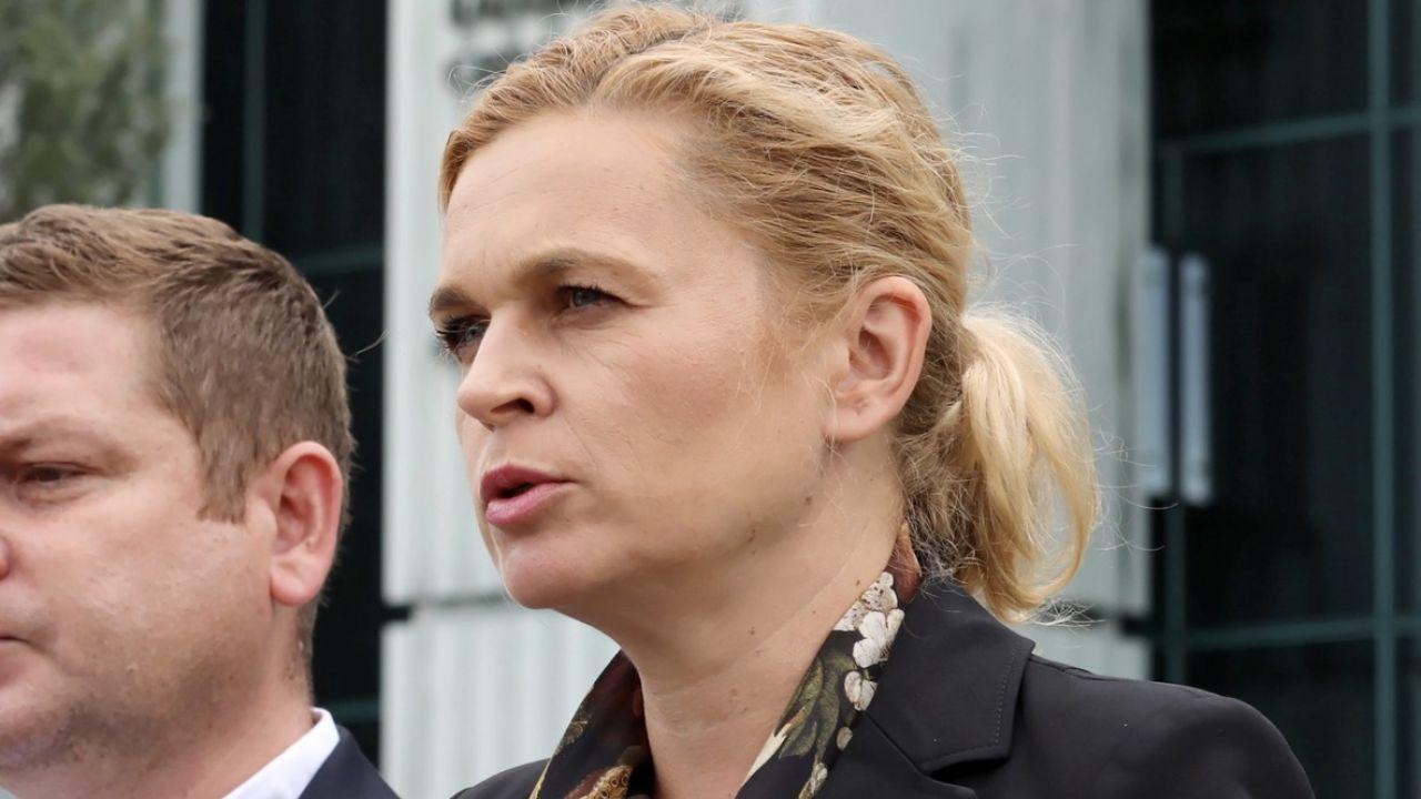 Posłanka KO podkreśla, że zatrzymany był aktywny przy kampanii Rafała Trzaskowskiego (fot. PAP/Tomasz Gzell)