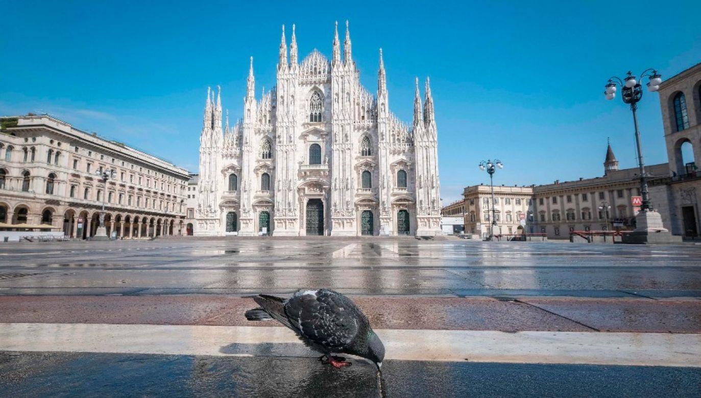 Włoskie miasta opustoszały (fot. PAP/EPA/ANDREA FASANI)