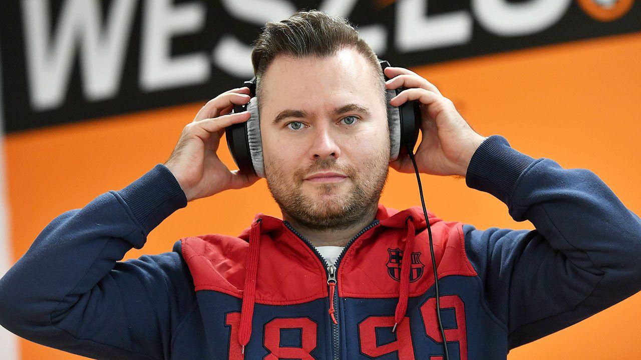 Dziennikarz Krzysztof Stanowski (fot. arch.PAP/Bartłomiej Zborowski)