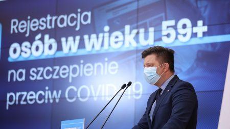 Do końca kwietnia 20 mln szczepień, będą też grupy priorytetowe (fot. KPRM)