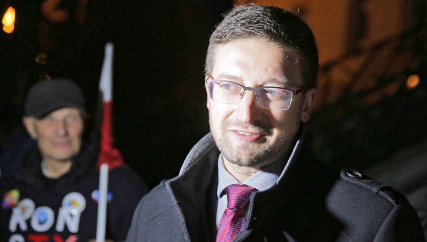 Sędzia Paweł Juszczyszyn (fot. arch.PAP/Tomasz Waszczuk)