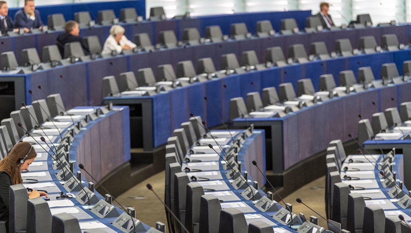 W sprawozdaniu rocznym PE znów dużo o aborcji, gender i seksualności (fot. PAP/EPA/PATRICK SEEGER)