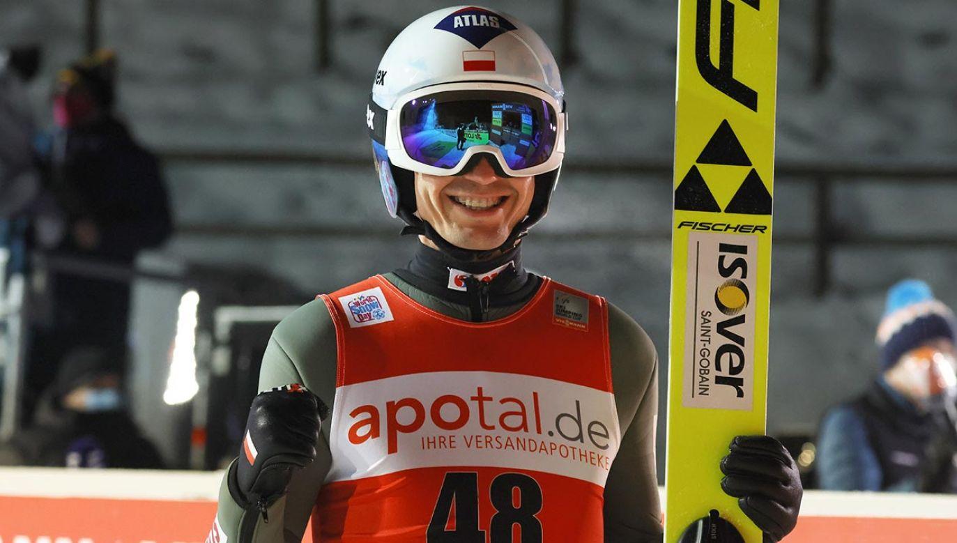 W środę Kamil Stoch triumfował w 69. Turnieju Czterech Skoczni (fot.PAP/EPA/RONALD WITTEK)