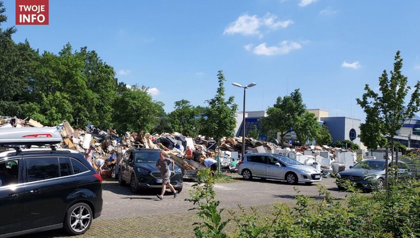 Miasto Rheinbach położone w Nadrenii Północnej-Westfalii (fot. pan  Mariusz/ Twoje Info)
