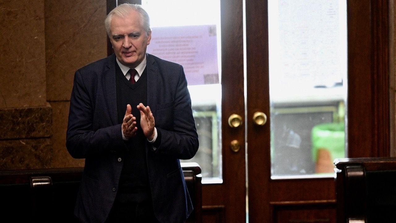 Były wicepremier odniósł się też do sytuacji w Zjednoczonej Prawicy (fot. PAP/Radek Pietruszka)