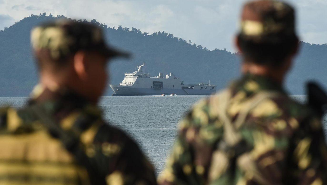 Waszyngton przeciwstawia się dominacji chińskiej w basenie Morza Południowochińskiego (fot. Dondi Tawatao/Getty Images)
