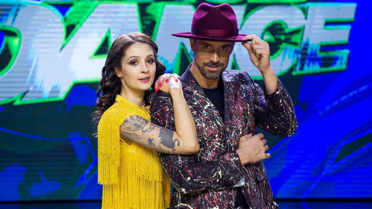 Ania i Staszek swoim duetem zabrali nas w świat dancehallu (Natasza Mludzik/ fot. TVP)