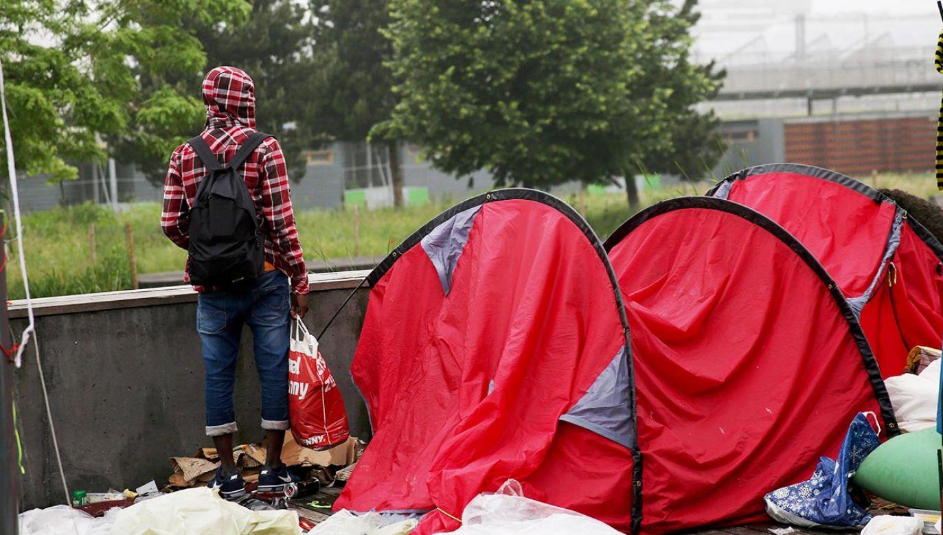 Ewakuacja z parku w Paryżu (fot. Forum/MAXPPP/Guillaume Georges, zdjęcie ilustracyjne)