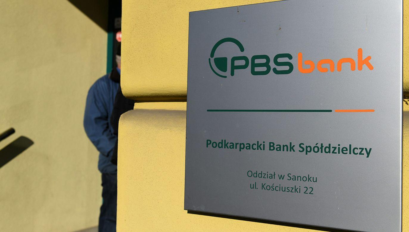 Bankowy Fundusz Gwarancyjny w komunikacie z ubiegłego tygodnia poinformował, że w przypadku przymusowej restrukturyzacji udziały członkowskie w PBS oraz jego obligacje zostają umorzone (fot. PAP/Darek Delmanowicz)
