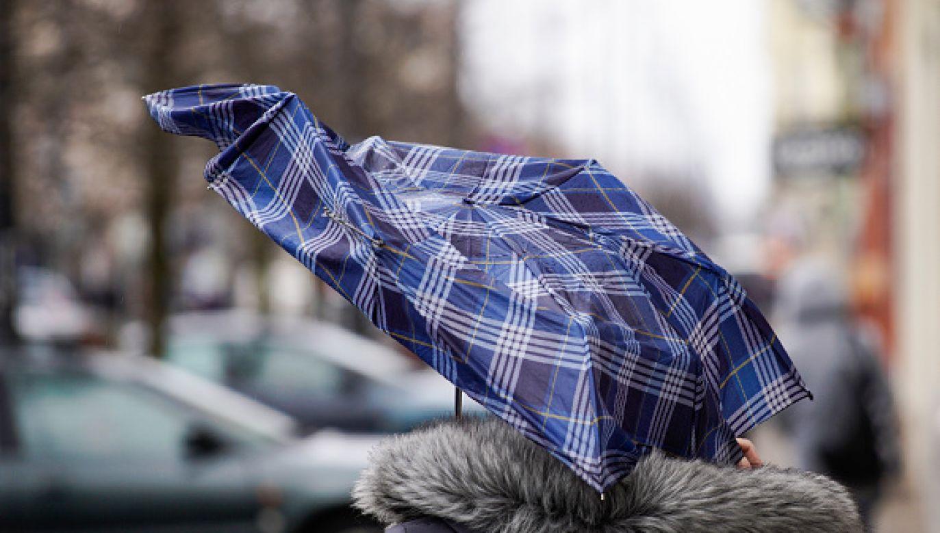 Silny wiatr w całej Polsce (fot. Getty Images)