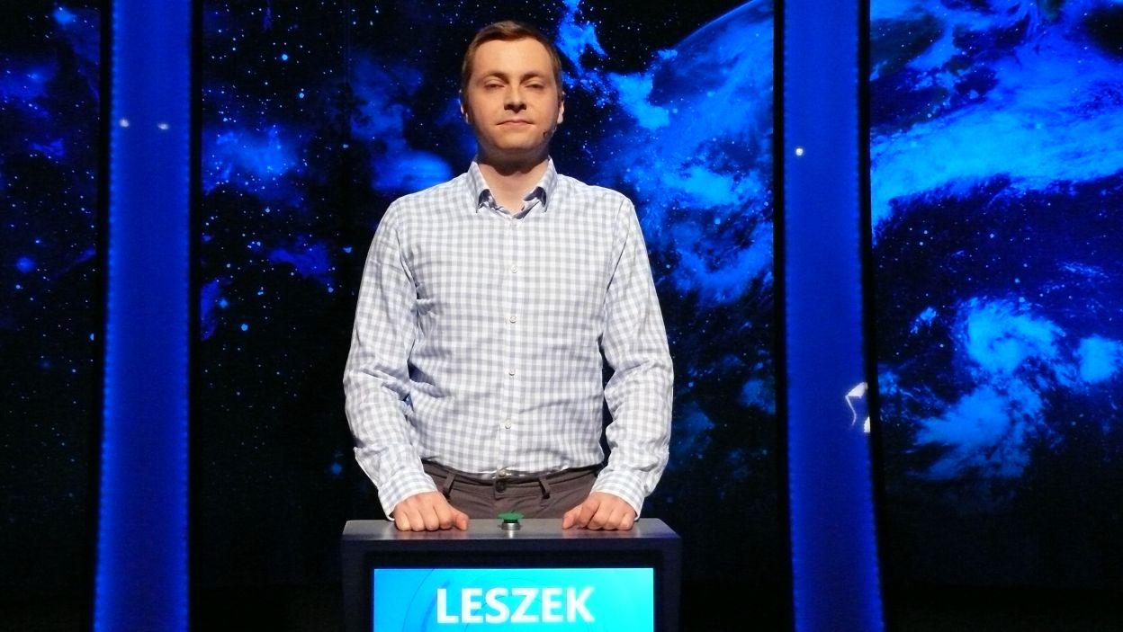 Leszek Stańco - zwycięzca 2 odcinka 115 edycji