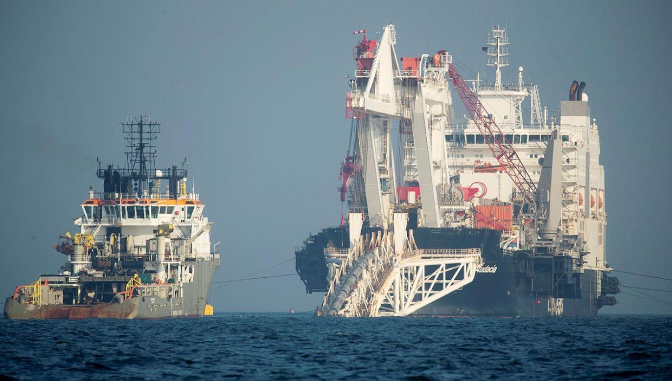 Nord Stream 2 to projekt liczącej 1200 km dwunitkowej magistrali gazowej prowadzącej przez Bałtyk (fot. REUTERS/Axel Schmidt)