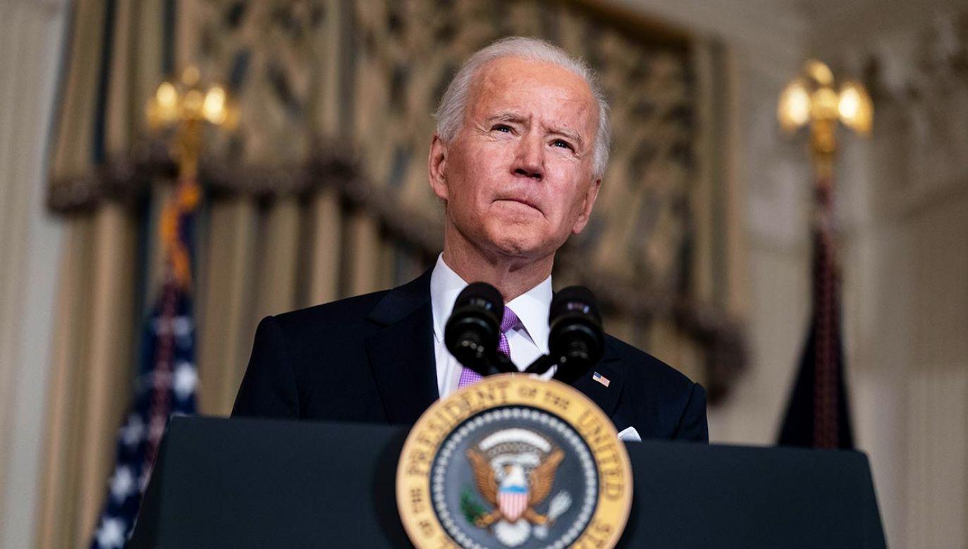 Biden w trakcie kampanii obiecał, że wprowadzi 100-dniowe moratorium na deportacje (fot. Doug Mills-Pool/Getty Images)