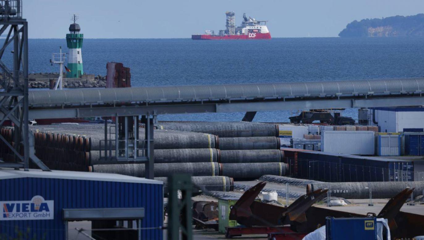 Budowie Nord Stream 2 sprzeciwia się między innymi Polska (fot. Sean Gallup/Getty Images)