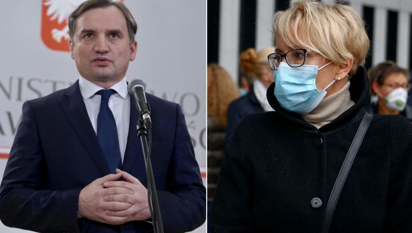 Ministerstwo sprawiedliwości zapowiada skargę kasacyjną na prawomocny wyrok na korzyść sędzi(fot. PAP/M.Marek, arch.PAP/Ł.Gągulski)