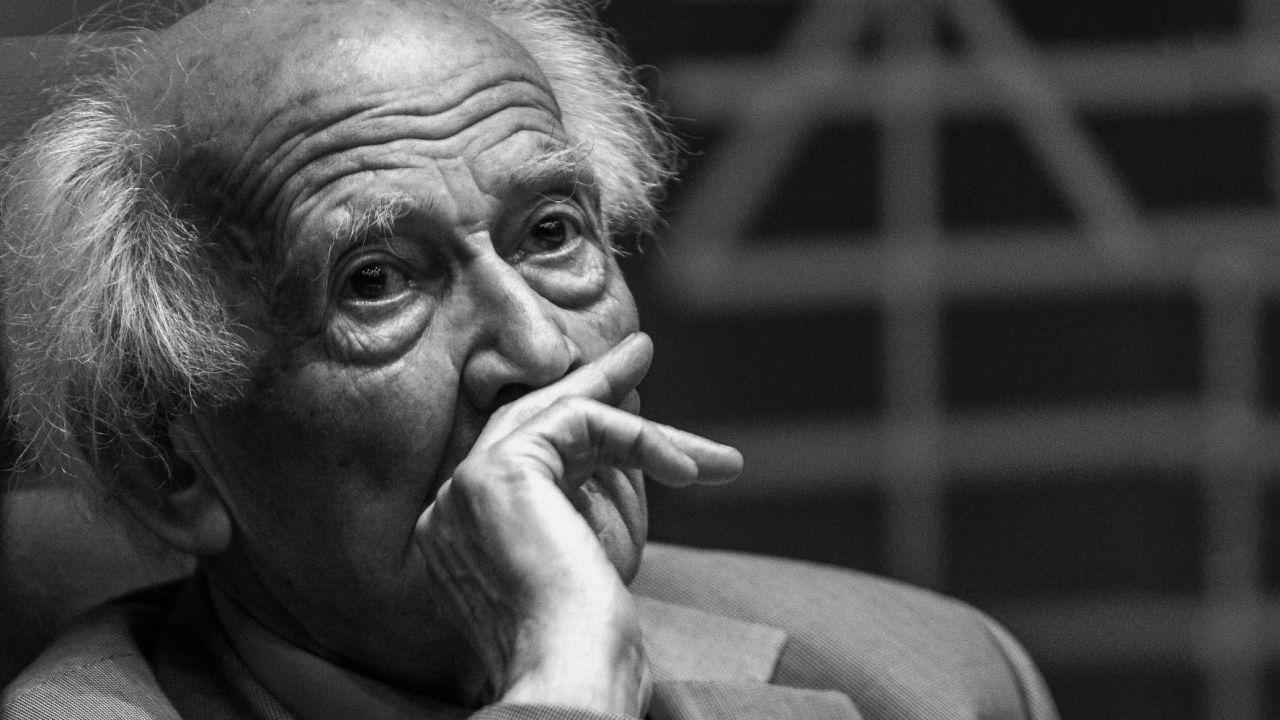 Zygmunt Bauman był teoretykiem kultury (fot.PAP/Maciej Kulczyński)