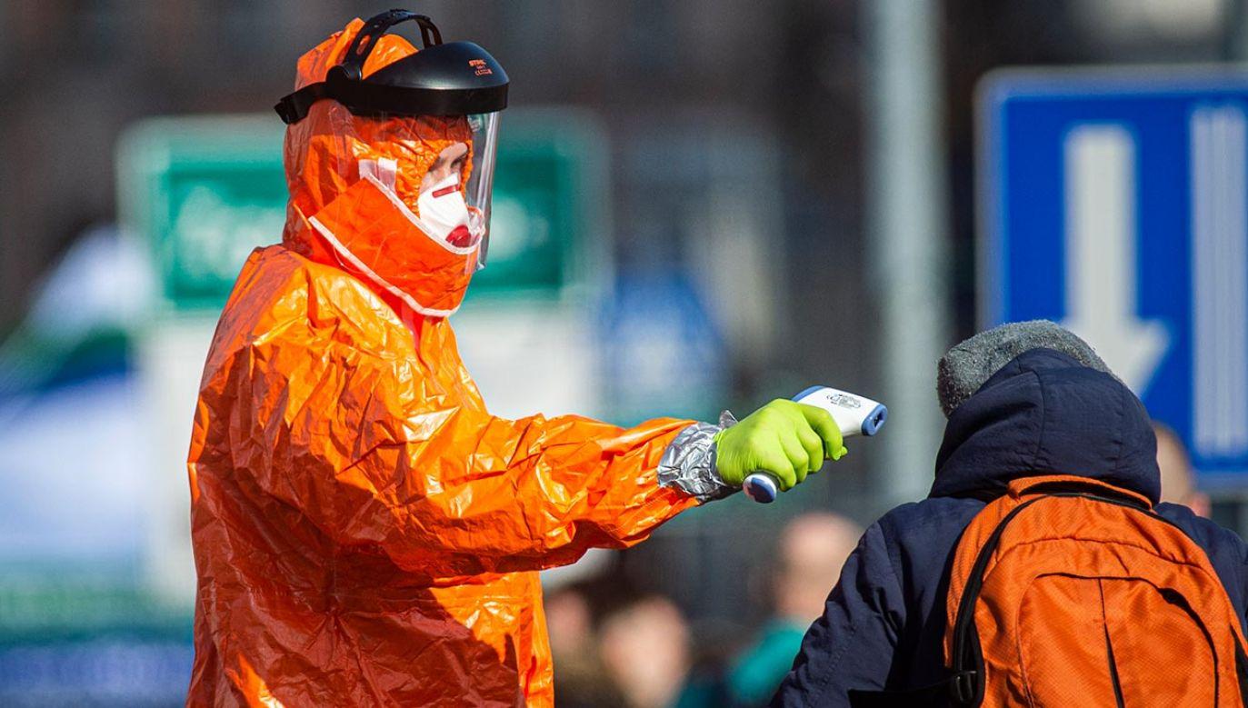 Epidemia w Polsce – najnowsze dane (fot. Florian Gaertner/Photothek via Getty Images)