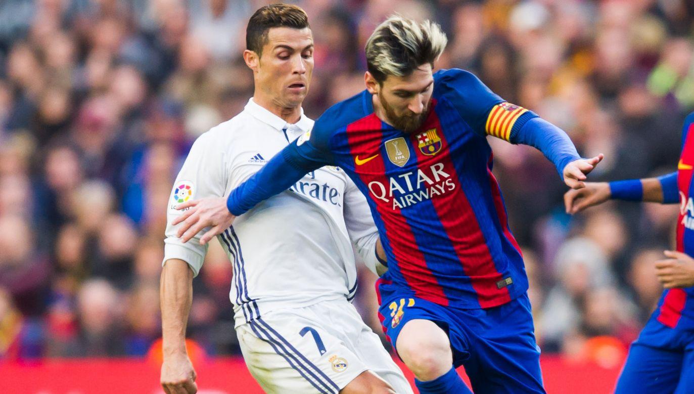 Cristiano Ronaldo i Lionel Messi znów spotkają się po dwóch stronach piłkarskiej barykady (fot. Getty Images)