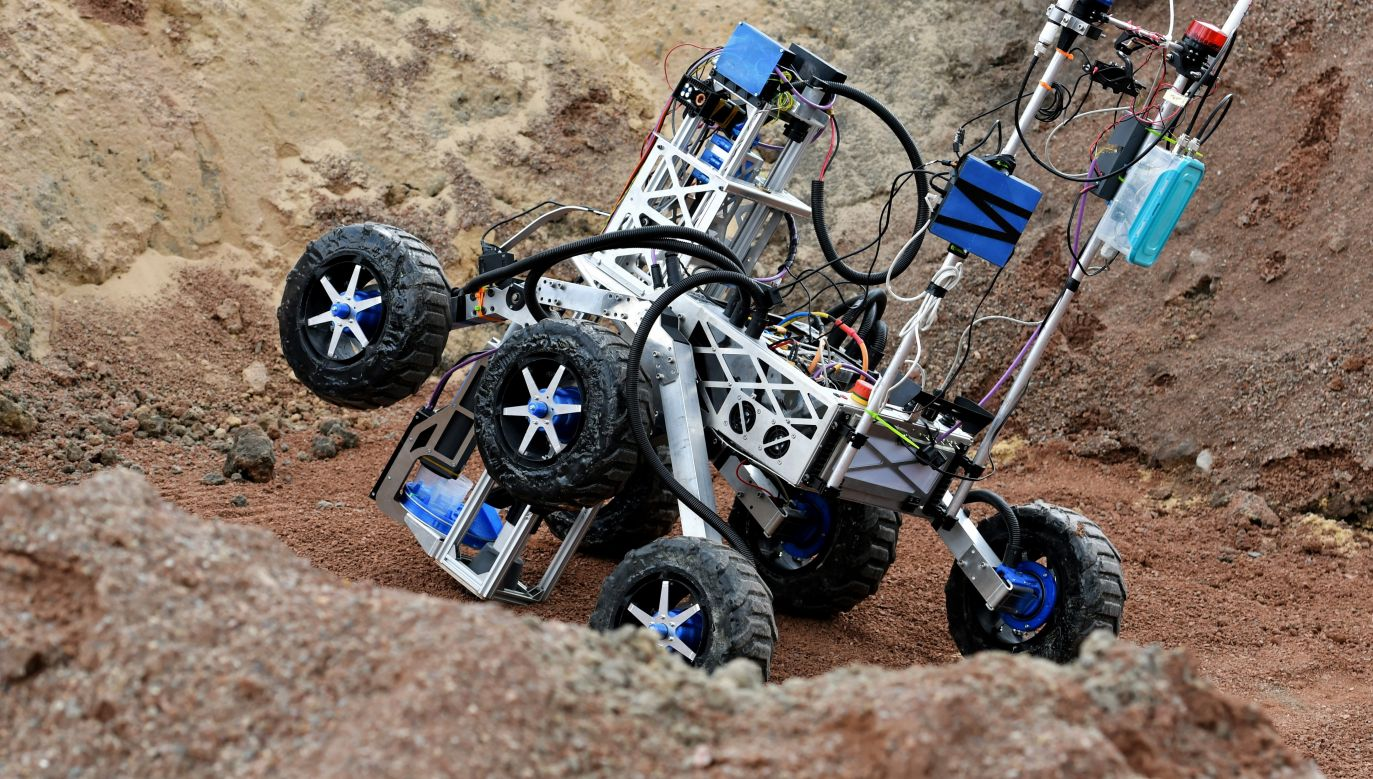 Martian rovers compete in Kielce