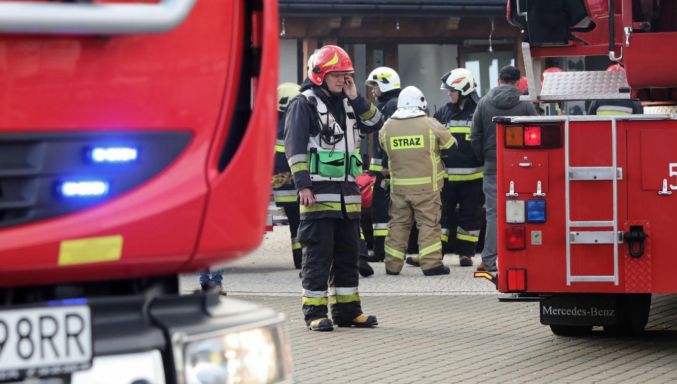 Informację o pożarze otrzymaliśmy od czytelnika na adres: twoje@tvp.info (fot. arch. PAP/Grzegorz Momot)