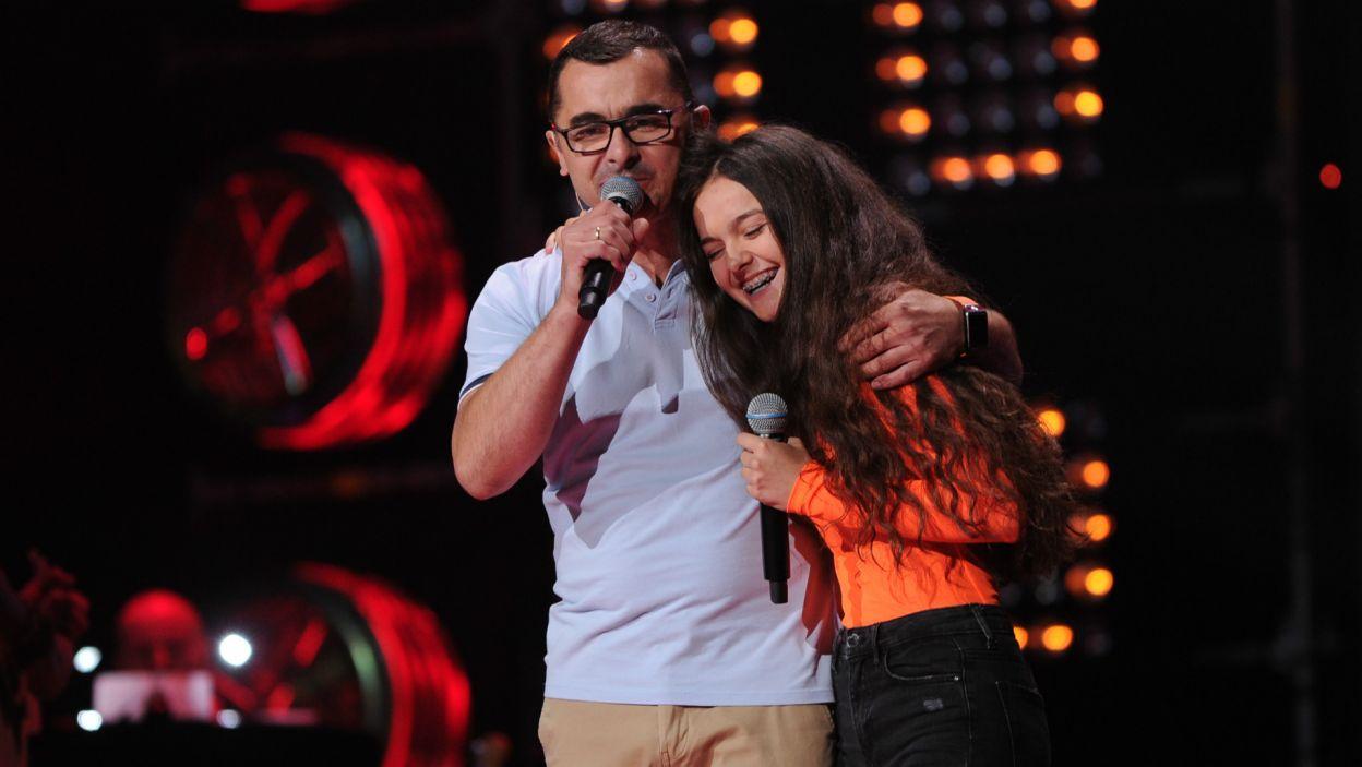 ... z którym wspólnie zaśpiewała zaraz po swoim występie (fot. TVP)
