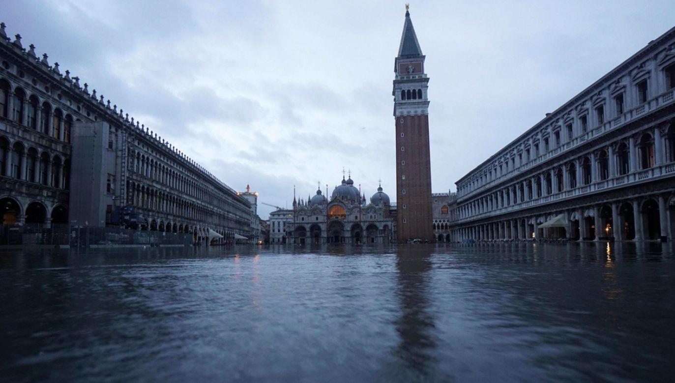 Wenecja doświadczyła w listopadzie największej powodzi od 50 lat (fot. PAP/EPA/ANDREA MEROLA