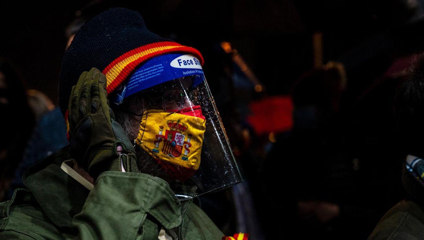 Burmistrz Madrytu wezwał do unikania dużych zgromadzeń (fot. Marcos del Mazo/LightRocket via Getty Images)