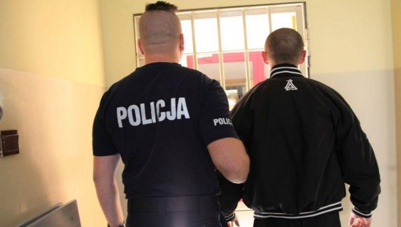 29-latek był pijany (fot. Policja Lubuska)
