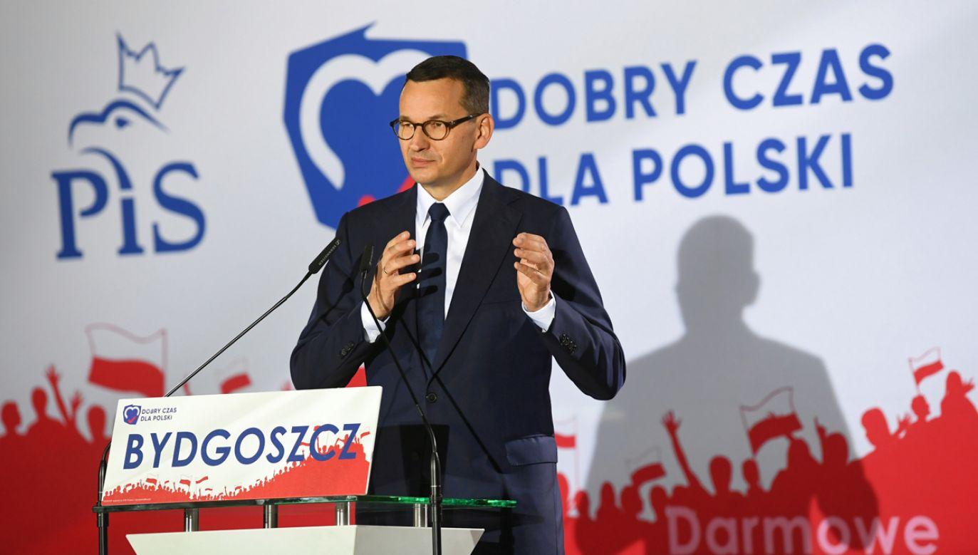 Zdaniem politologa przeniesienie kampanii na obszar merytoryczny znacząco ułatwi kampanię obozowi rządzącemu (fot. PAP/Tytus Żmijewski)