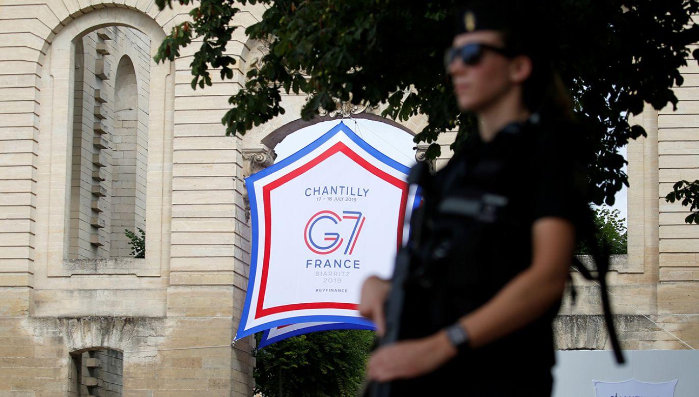 Za powrotem do formatu G8, czyli G7 z Rosją, opowiedział się prezydent Stanów Zjednoczonych (fot. REUTERS/Pascal Rossignol)