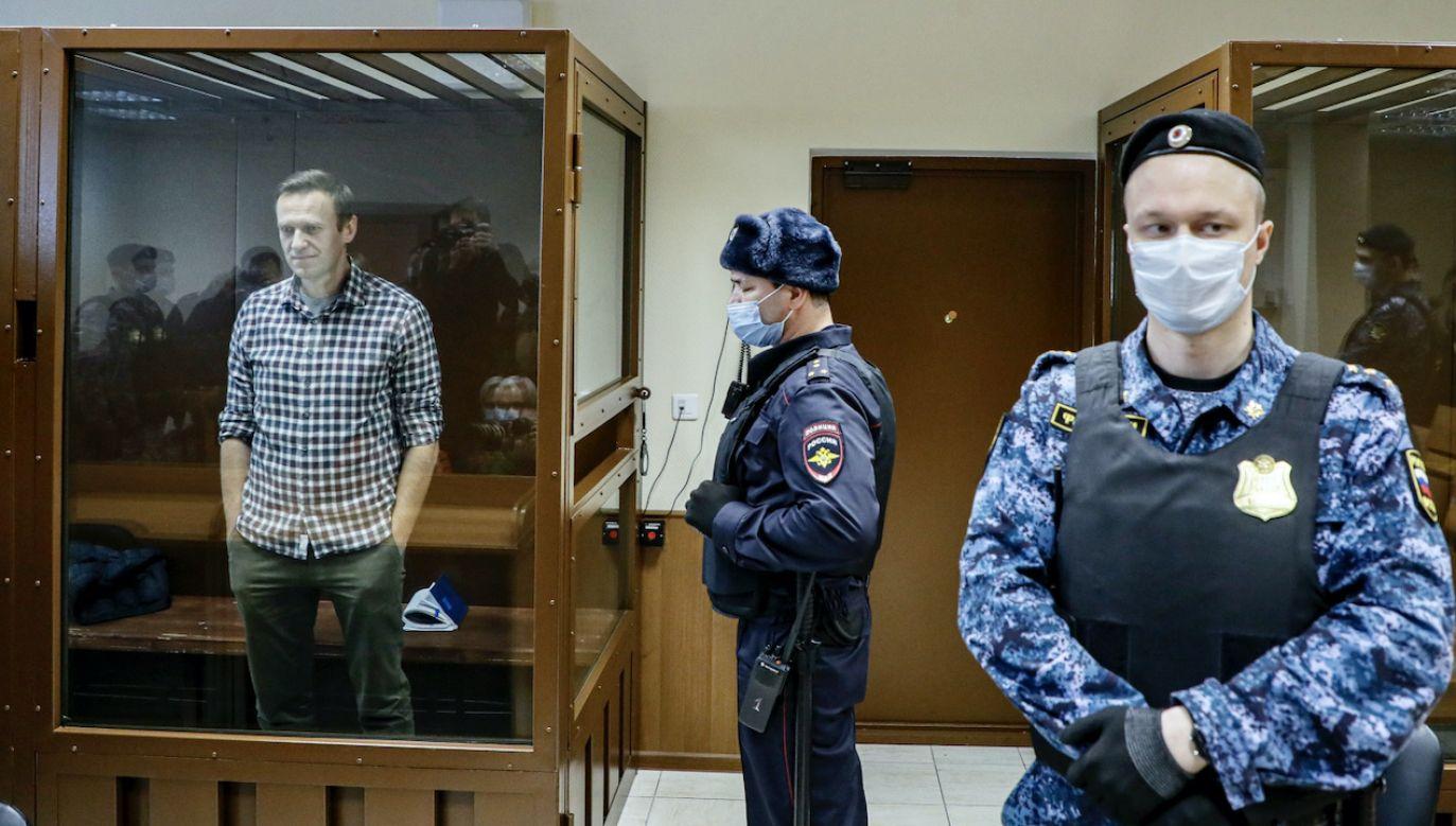 Kreml dołożył Aleksiejowi Nawalnemu kolejny wyrok (fot. PAP/EPA/YURI KOCHETKOV)