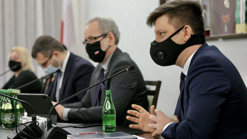 Michał Dworczyk odniósł się do uwag RPO (fot. PAP/P.Supernak)