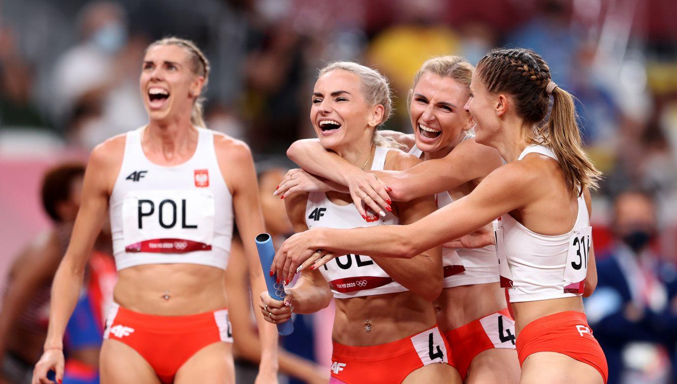 Iga Baumgart-Witan, Malgorzata Holub-Kowalik, Justyna Swiety-Ersetic i Natalia Kaczmarek (fot. Getty Images)