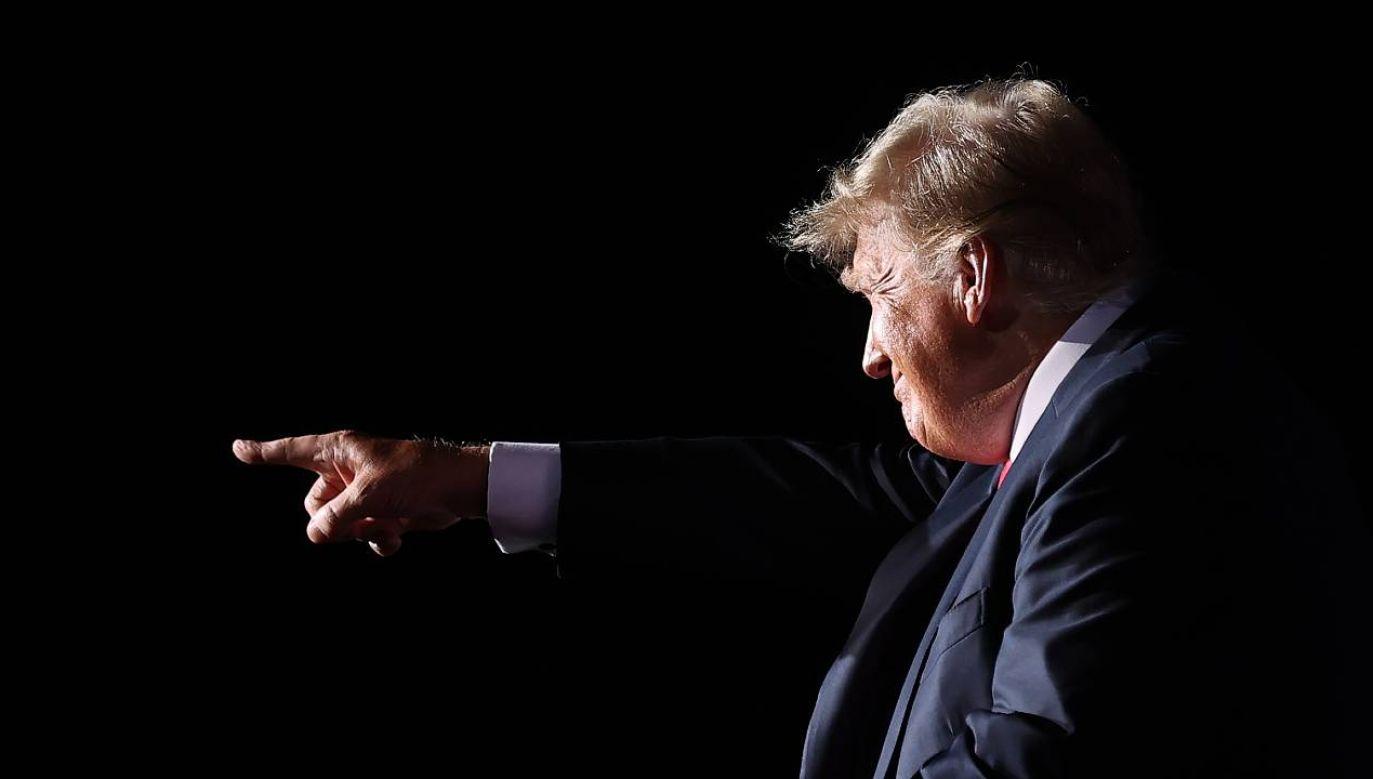 Były prezydent USA Donald Trump (fot. Chip Somodevilla/Getty Images)