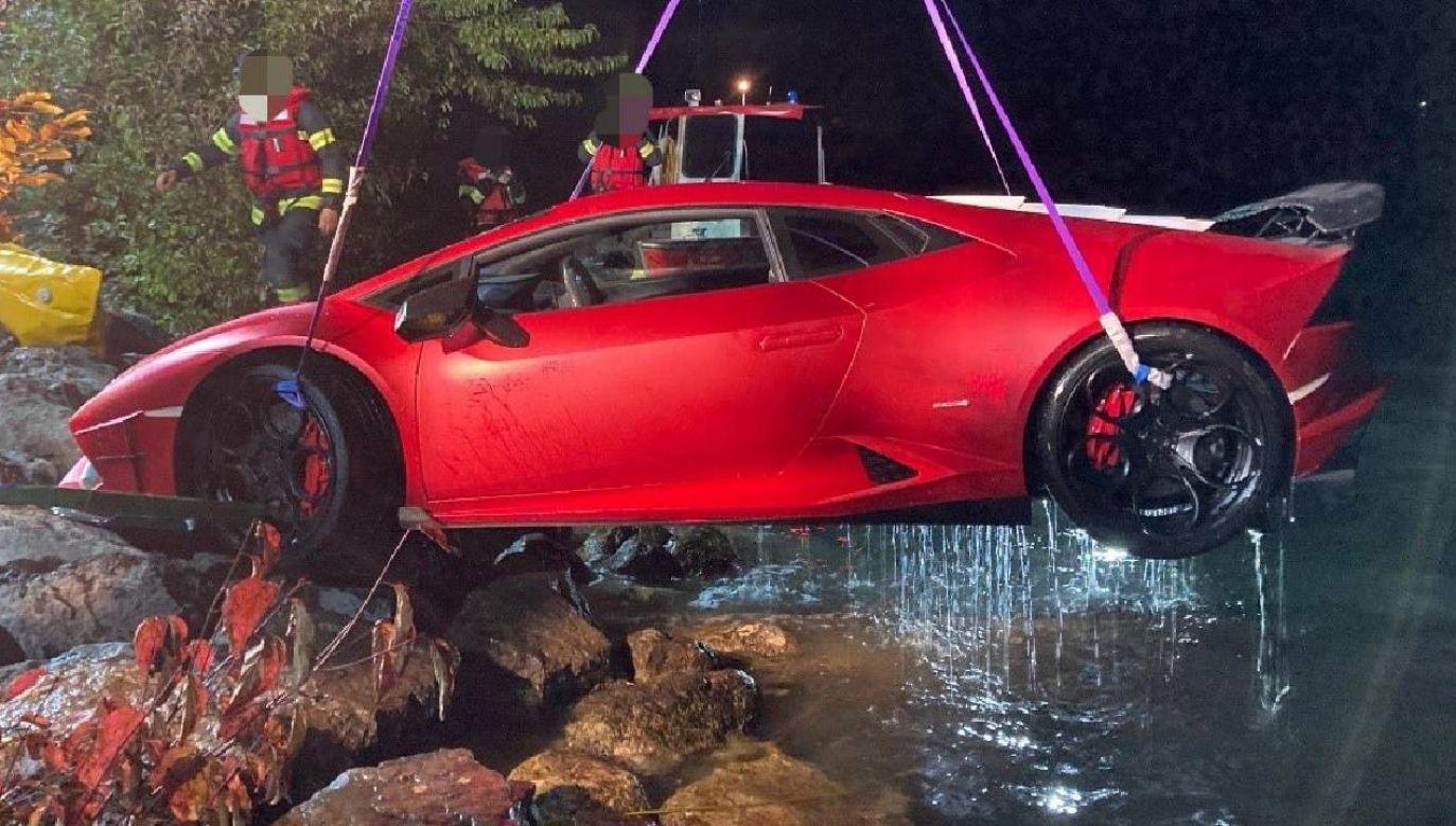 Kierowca trafił do szpitala (fot. TT/POLIZEI OÖ)