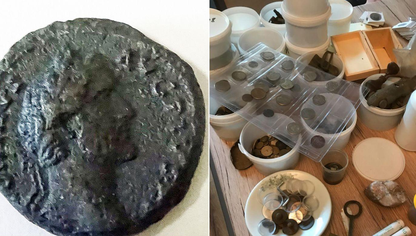Moneta może być warta kilka tysięcy złotych (fot. zachodniopomorska.policja.gov.pl)