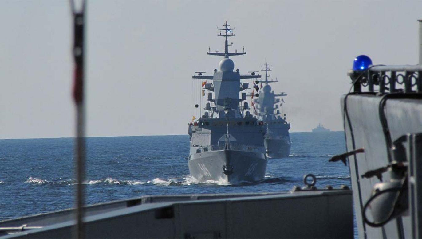 Rosja planuje manewry na Bałtyku (fot. Mil.ru)