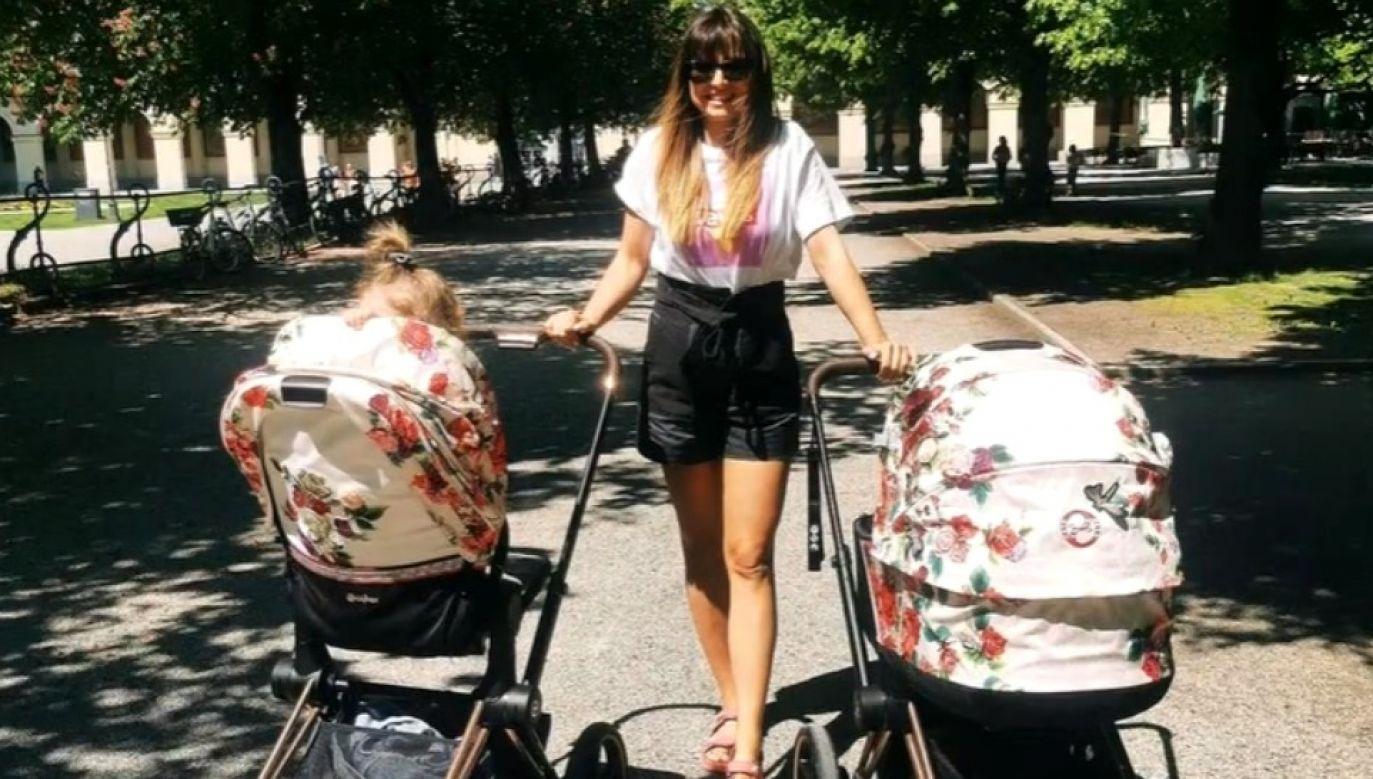 Anna Lewandowska po raz drugi została matką (fot. IG/Anna Lewandowska)