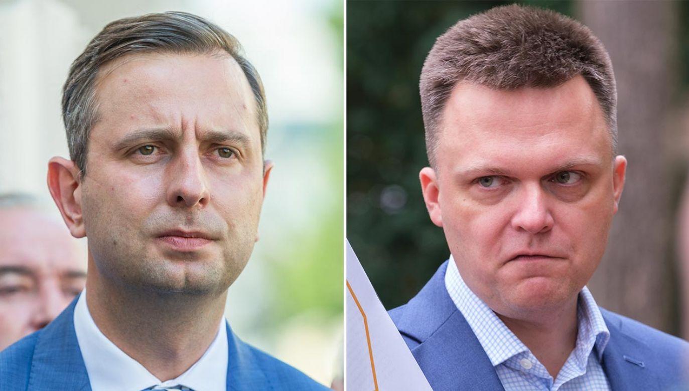 Liderów pozostałych partii opozycyjnych nie było na demonstracji (fot. Forum/FotoNews/MACIEJ GOCLON; Forum/Dariusz Gorajski)