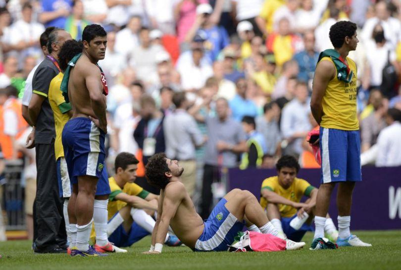 Brazylijczycy przegrali finał igrzysk z Meksykiem (fot.PAP)