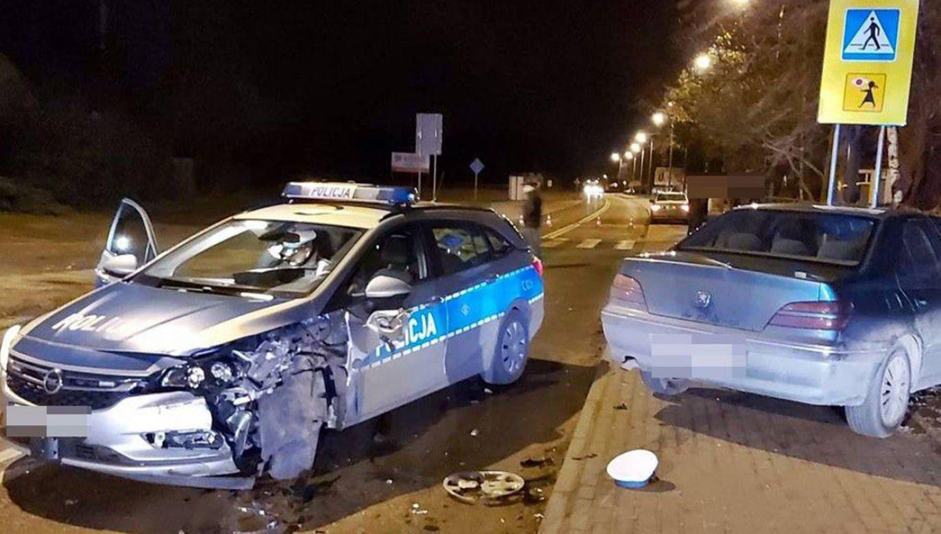 61-letni kierowca miał 2 promile alkoholu w organizmie (fot. Policja)
